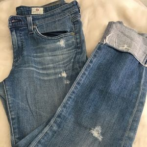 AG JEANS THE STEVIE CUFF JEANS